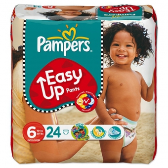 Pampers Size 4 Maxi Baby Dry - Giga Pack All your baby needs for every morning to be a good morning is your love and a dry night's sleep. Pampers Baby-Dry have Double Dry-Zones: a new soft absorbing layer, and a core which locks in wetness better than next leading nappy for up to 12 hours of dryness so your baby gets the sleep needed to develop.